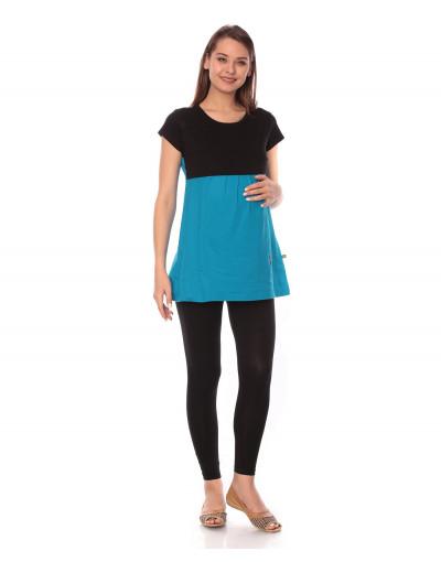 Women's Round Neck Maternity/Feeding T-Shirts - Goldstroms