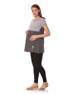 Goldstroms women's Round Neck Maternity/Feeding/Nursing Tshirt/Top/Tee