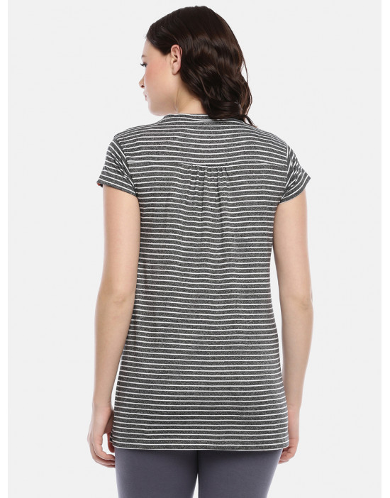 GOLDSTROMS Womens Maternity Stripe Tee