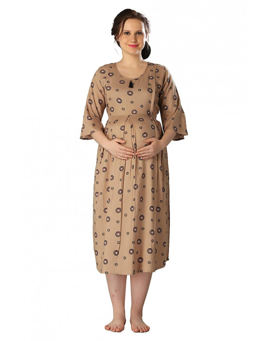 GOLDSTROMS Womens Printed Maternity Gown