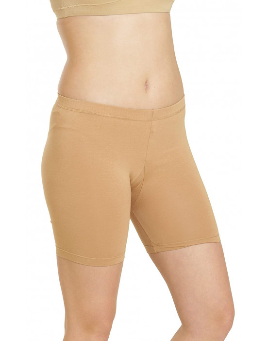 GOLDSTROMS Women Cotton Lycra Cycling Short