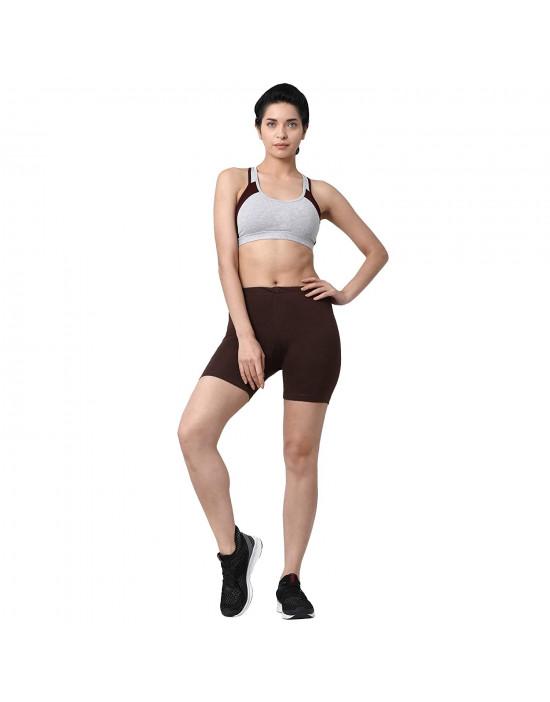 GOLDSTROMS Women Cotton Lycra Cycling Short