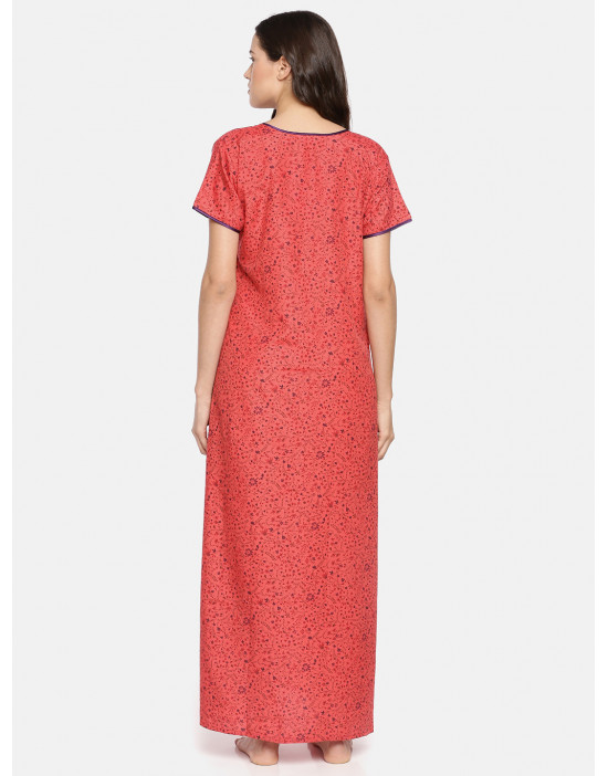 GOLDSTROMS Womens RED Printed Maternity Nightdress