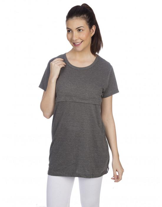 Women's Long Sleeve Feeding Top T-Shirt - Goldstroms
