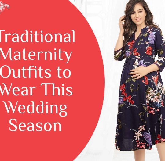Traditional Maternity Outfits to Wear This Wedding Season