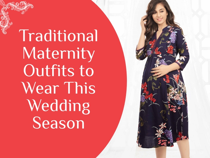 Best Indian Maternity Dresses Ideas For Wedding
